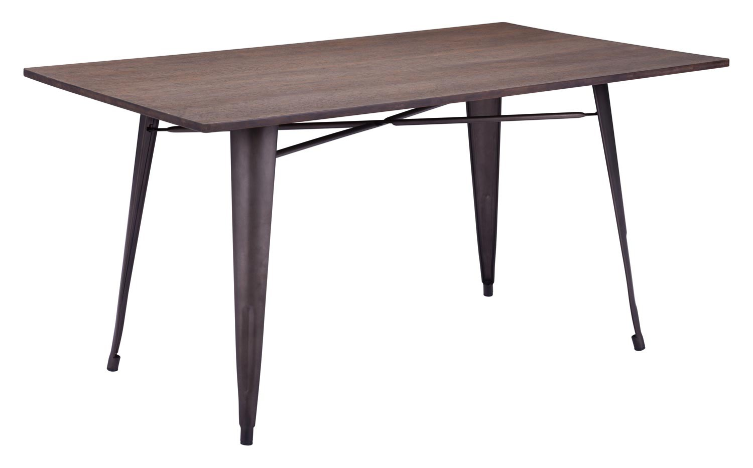 Zuo Modern Titus Rectangular Dining Table Rustic Wood ZM  : ZM 109127 from www.homelement.com size 1500 x 933 jpeg 62kB