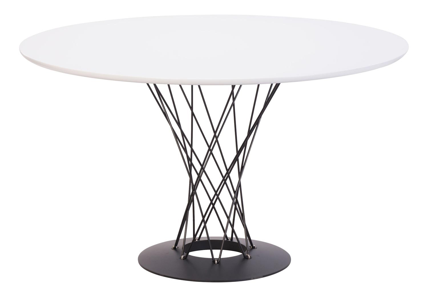 Zuo Modern Spiral Dining Table - White
