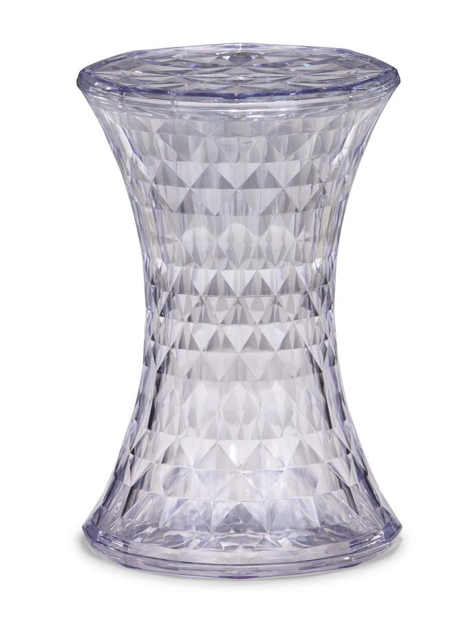Zuo Modern Prisma Stool - Transparent 155050