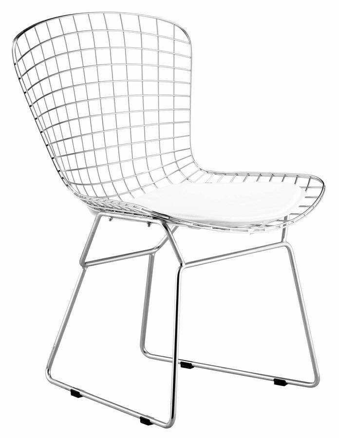 Zuo Modern Wire Chair - Chrome