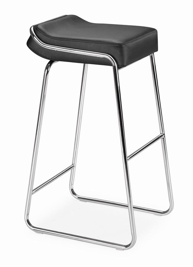 Zuo Modern Wedge Barstool - Black