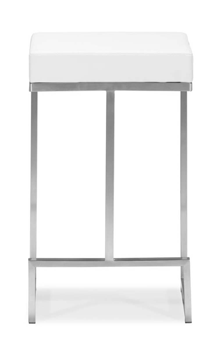 Zuo Modern Darwen Counter Chair - White