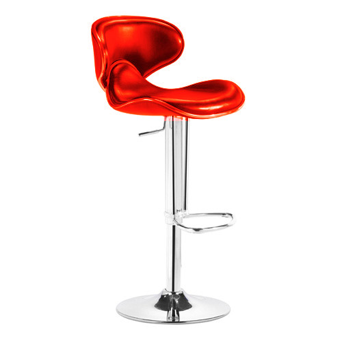 Zuo Modern Fly Barstool - Red 300132