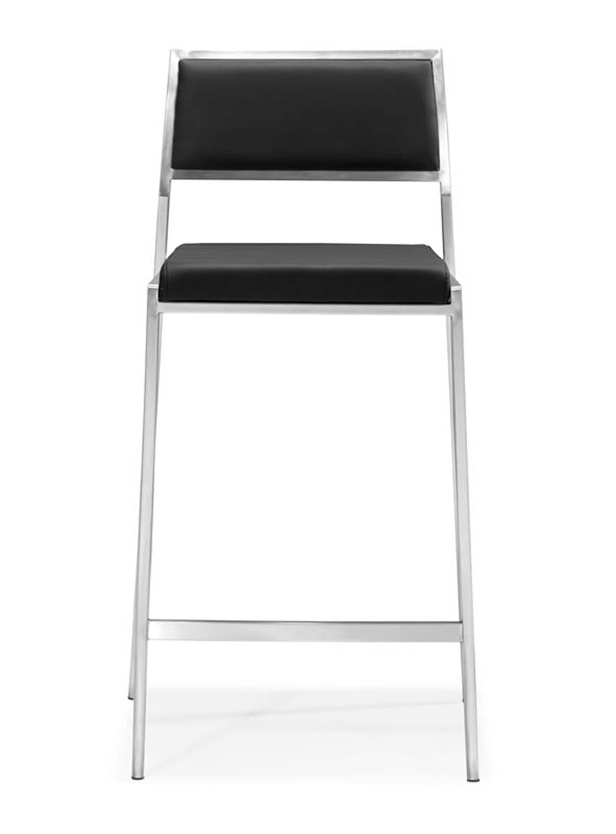 Zuo Modern Dolemite Counter Chair - Black