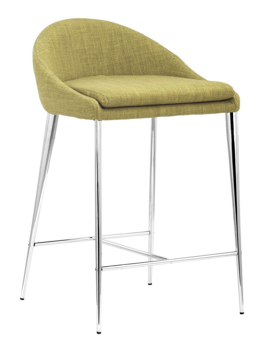 Zuo Modern Reykjavik Counter Chair - Pea