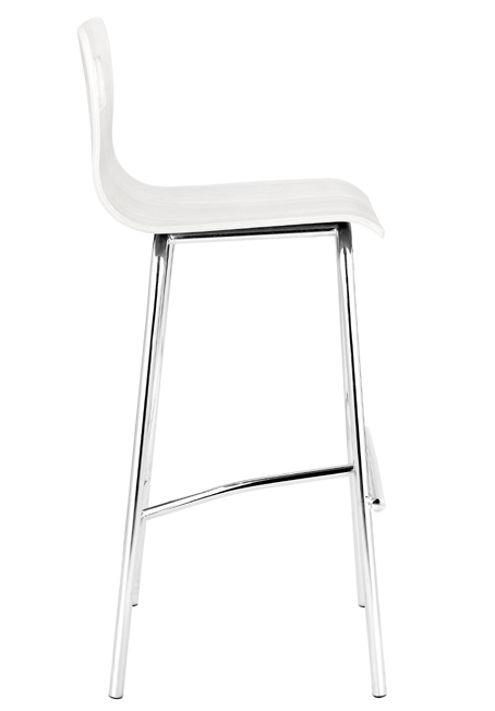 Zuo Modern Escape Barstool - White