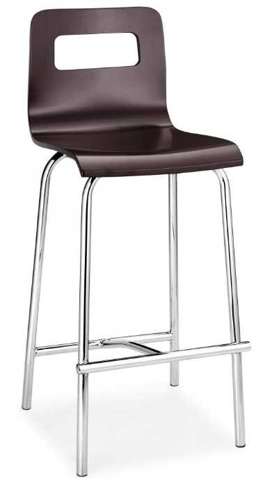 Zuo Modern Escape Barstool - Wenge
