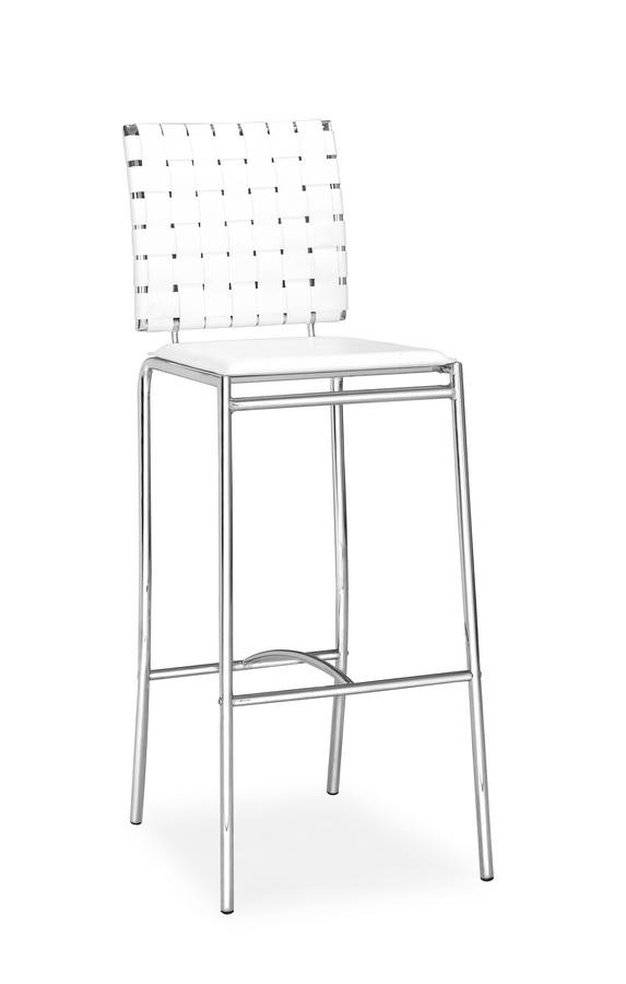 Zuo Modern Criss Cross Barchair - White