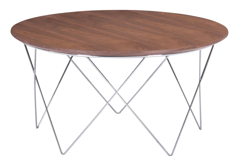 Zuo Modern Macho Coffee Table - Walnut
