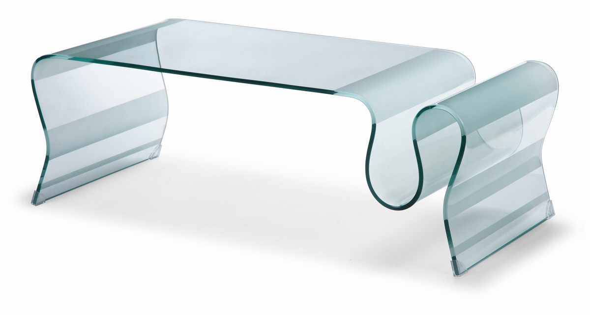 Zuo Modern Discovery Coffee Table Tempered Glass