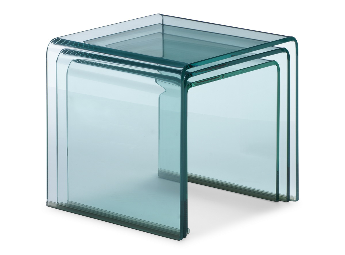 Zuo Modern Explorer Tables - Clear