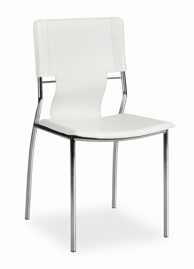 Zuo Modern Trafico Dining Chair - White