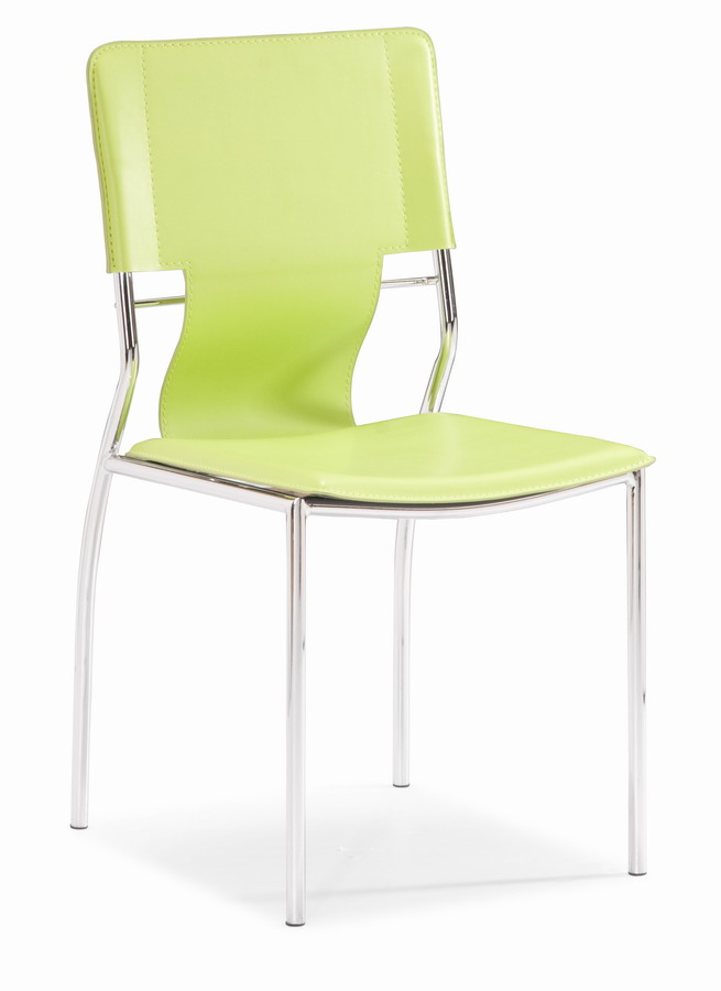 Zuo Modern Trafico Dining Chair - Green