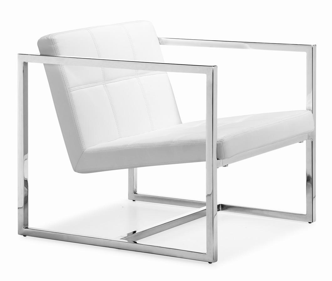 Zuo Modern Carbon Chair - White