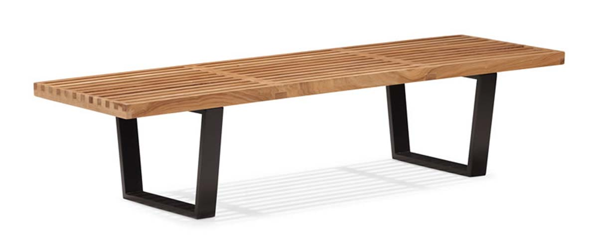 Zuo Modern Heywood Triple Bench - Natural