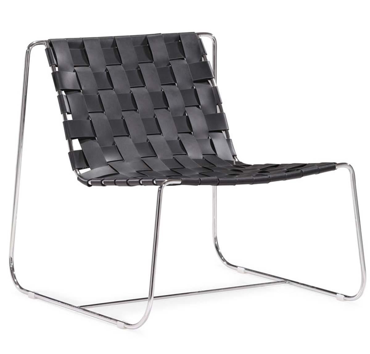 Zuo Modern Prospect Park Lounge Chair - Black