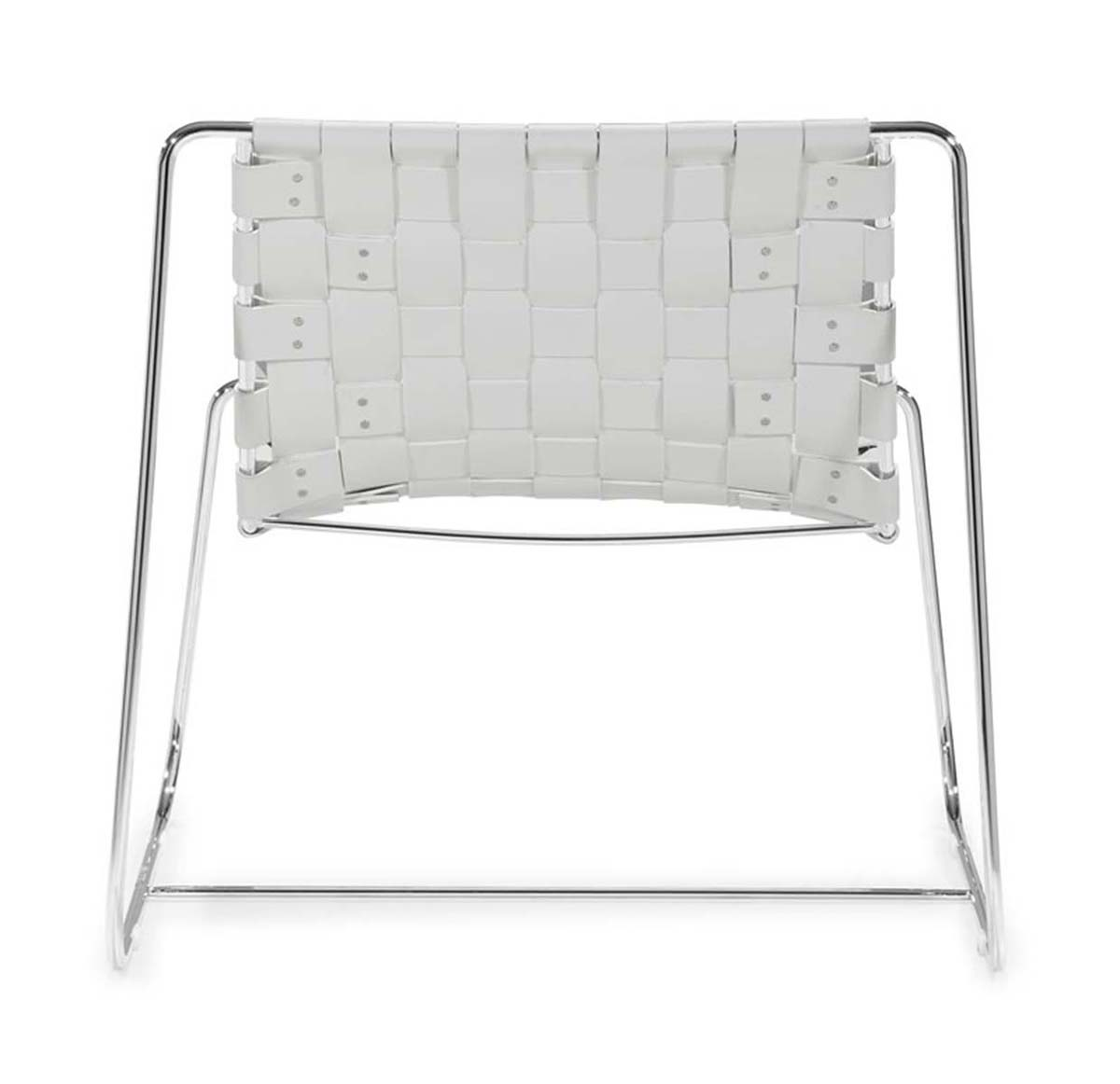 Zuo Modern Prospect Park Lounge Chair - White