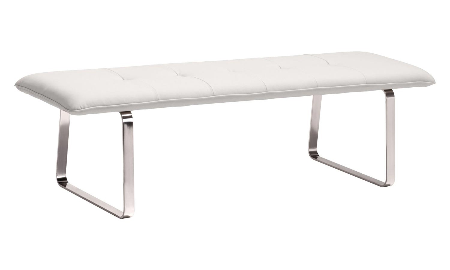 Zuo Modern Cartierville Bench - White