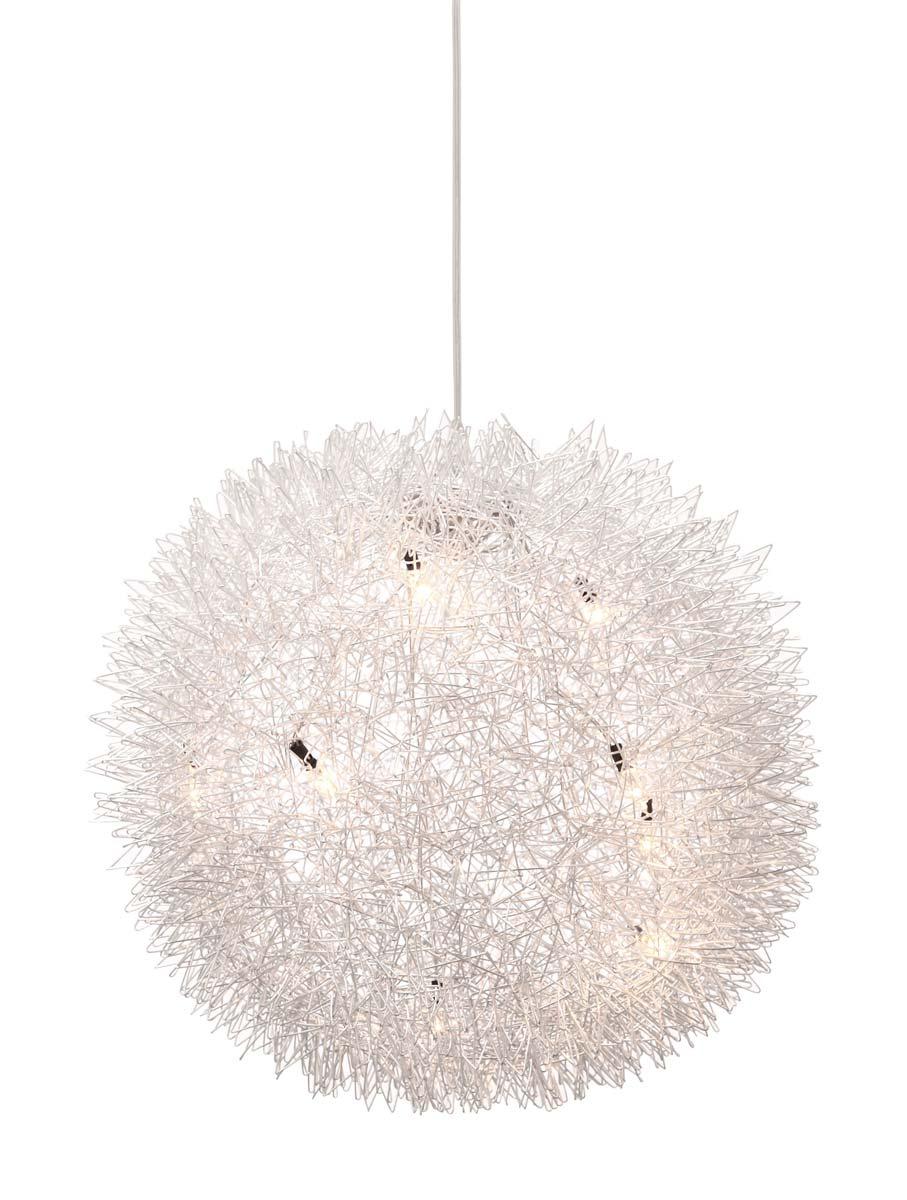 Zuo Modern Warp Ceiling Lamp - Aluminium