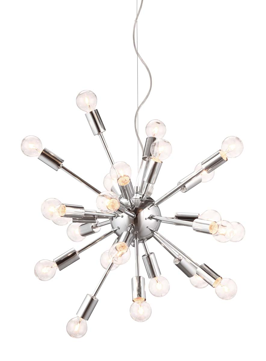 Zuo Modern Pulsar Ceiling Lamp - Chrome