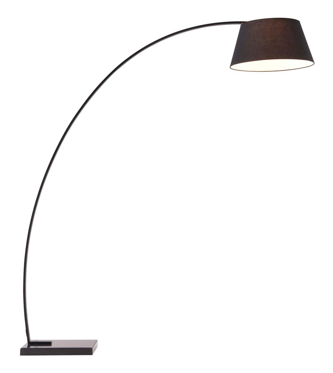 Zuo Modern Vortex Floor Lamp - Black