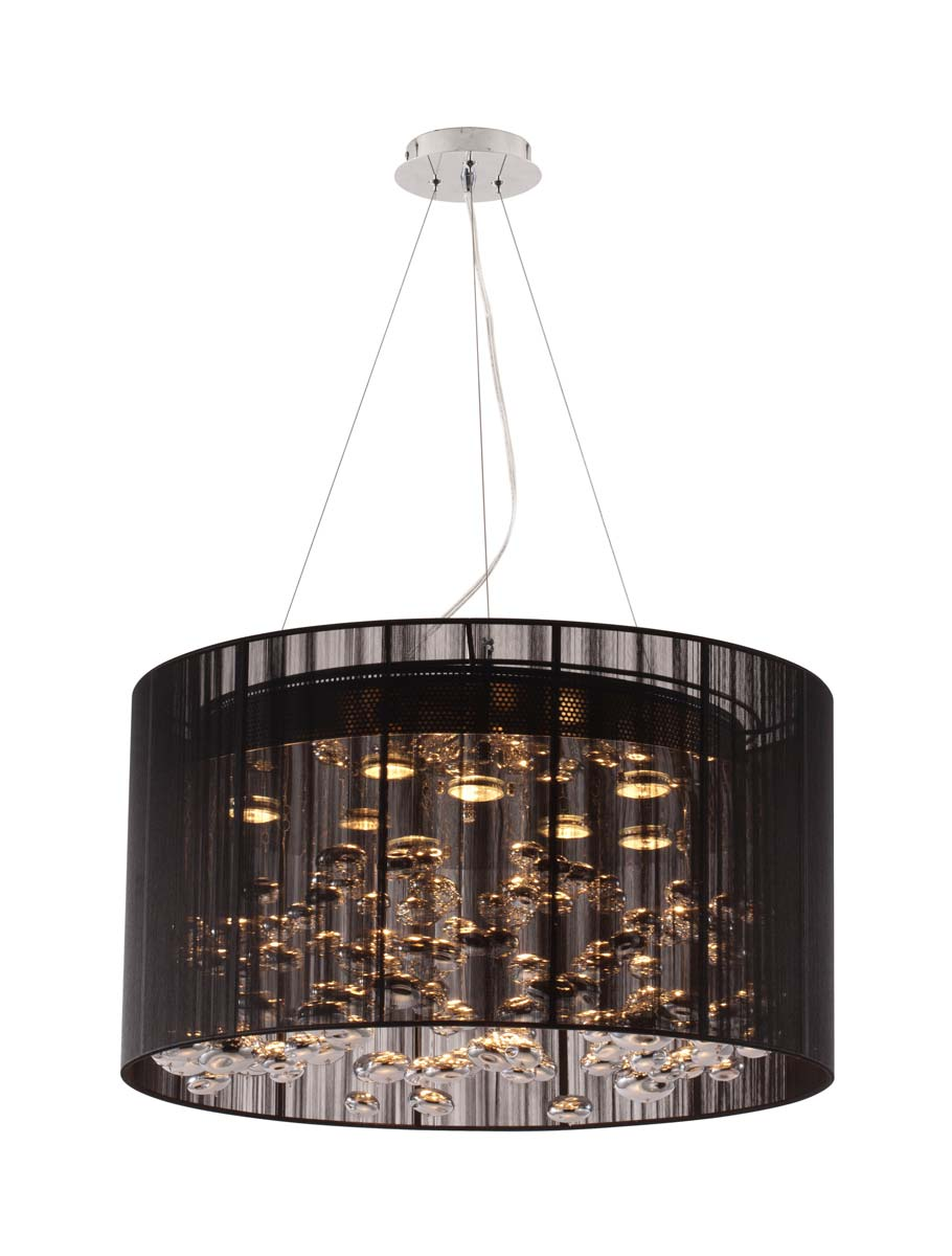 Zuo Modern Symmetry Ceiling Lamp - Black