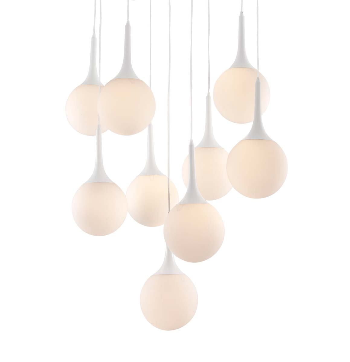 Zuo Modern Epsilon Ceiling Lamp - White