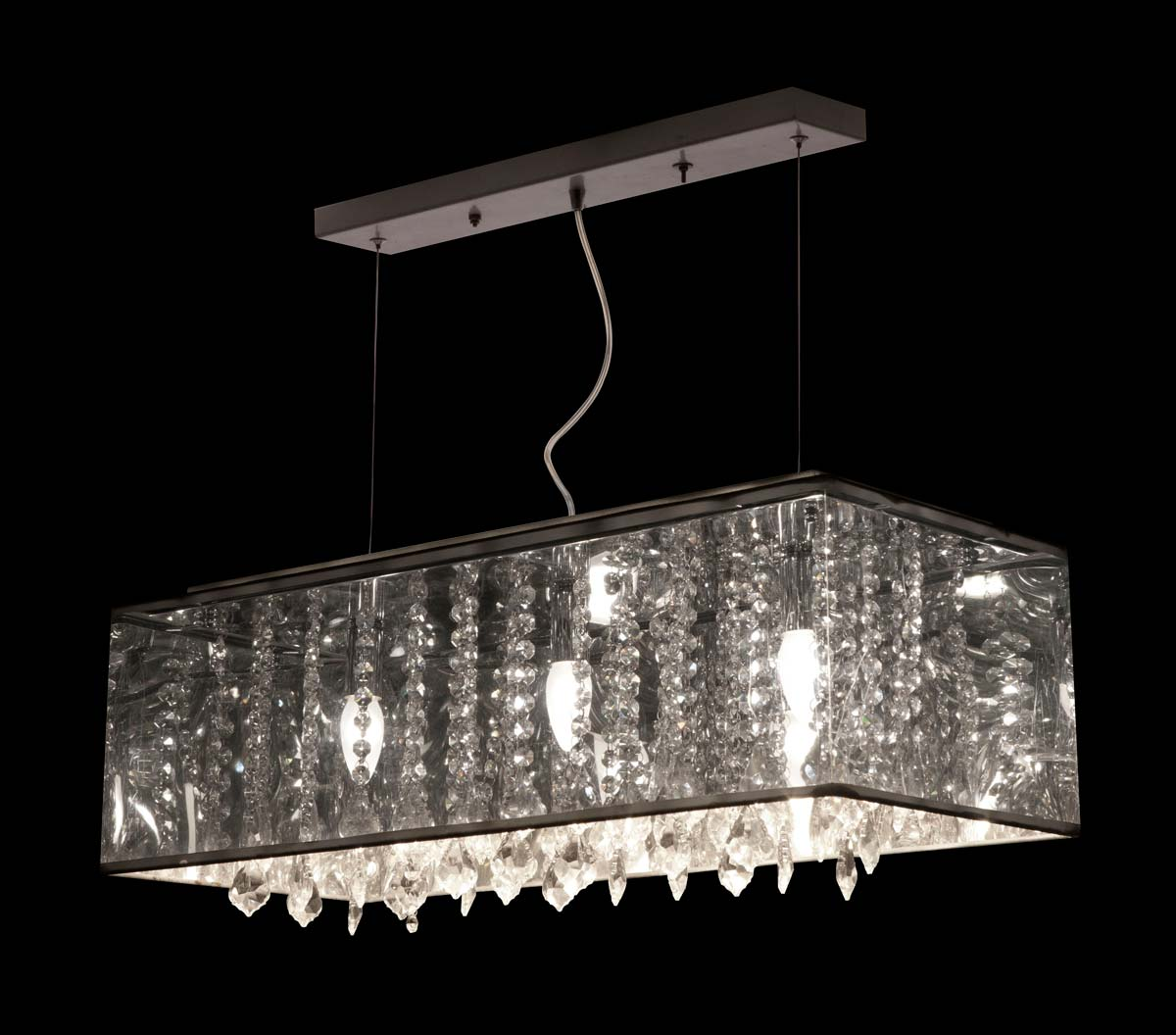 Zuo Modern Blast Ceiling Lamp - Translucent