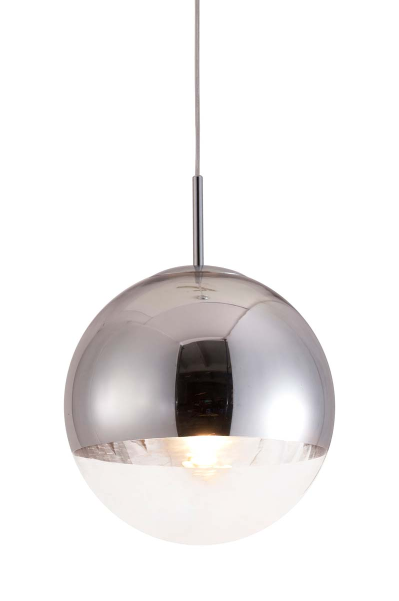 Zuo Modern Kinetic Ceiling Lamp - Chrome