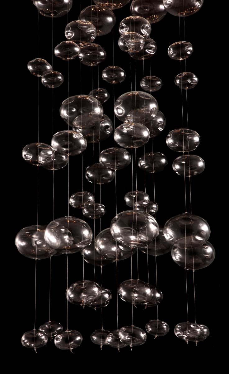 Zuo Modern Inertia Ceiling Lamp - Stainless Steel