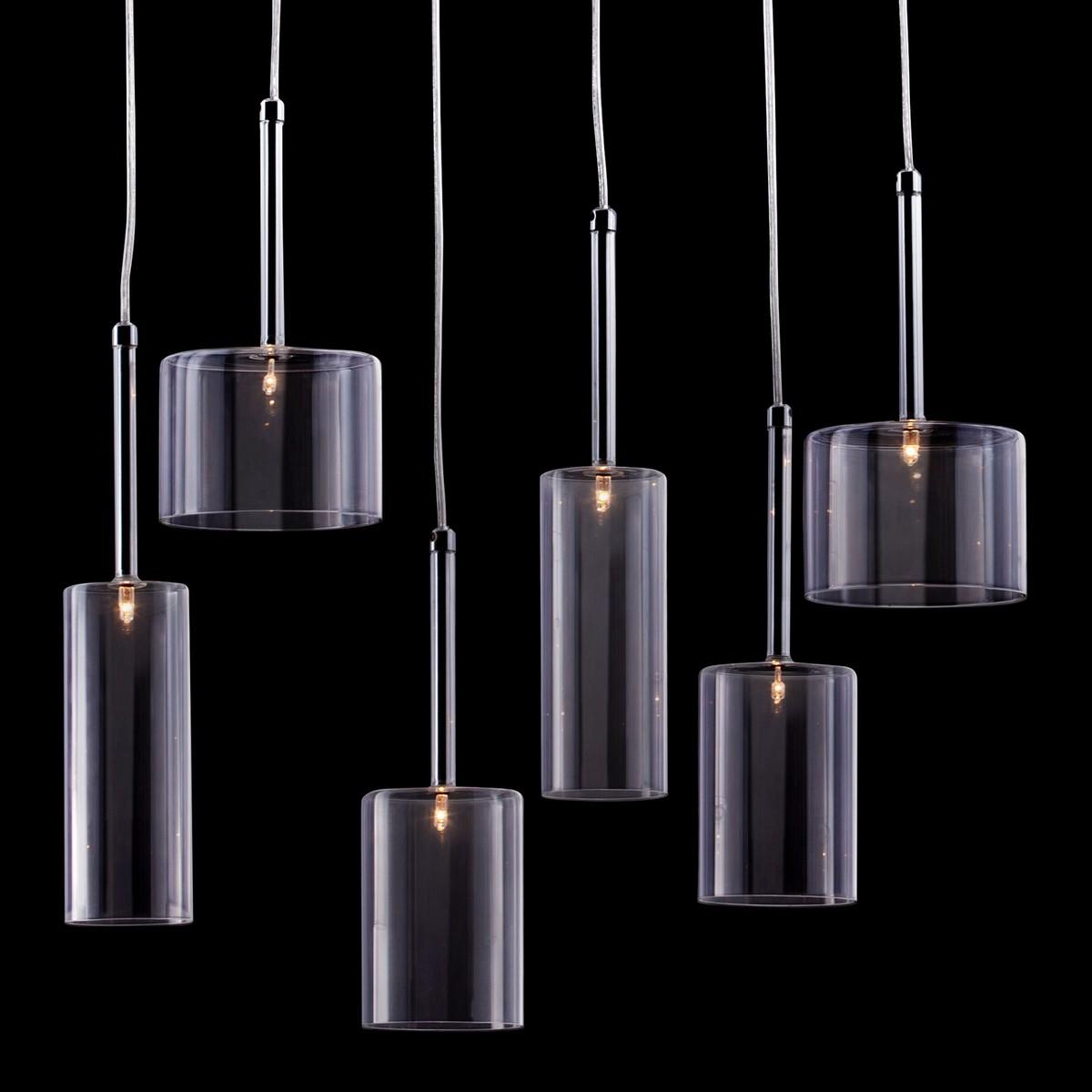 Zuo Modern Hale Ceiling Lamp - Clear