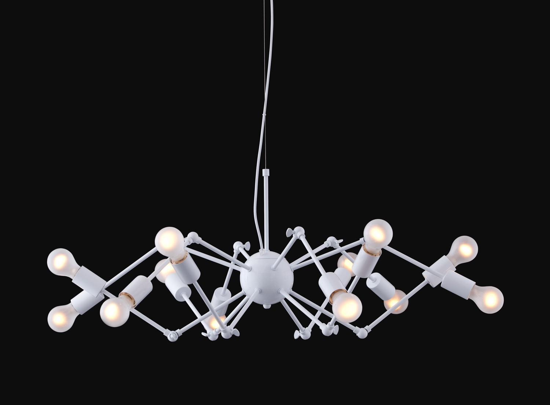 Zuo Modern Sleet Ceiling Lamp - White