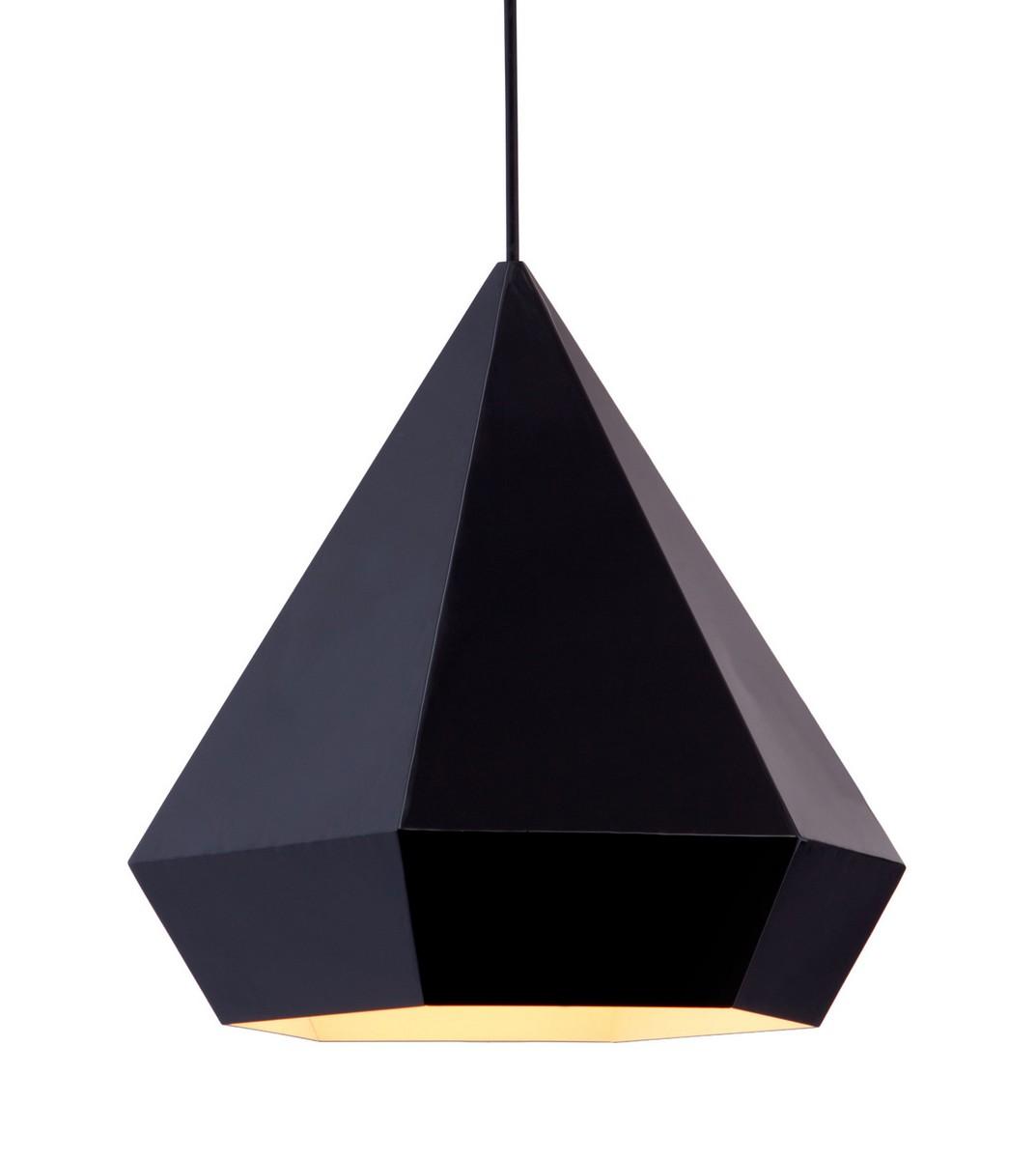 Zuo Modern Forecast Ceiling Lamp - Black