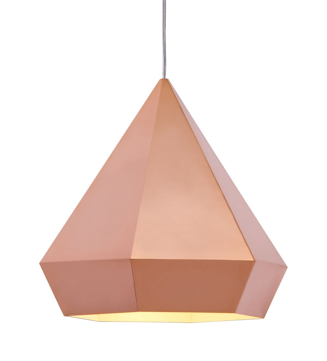 Zuo Modern Forecast Ceiling Lamp - Rose Gold
