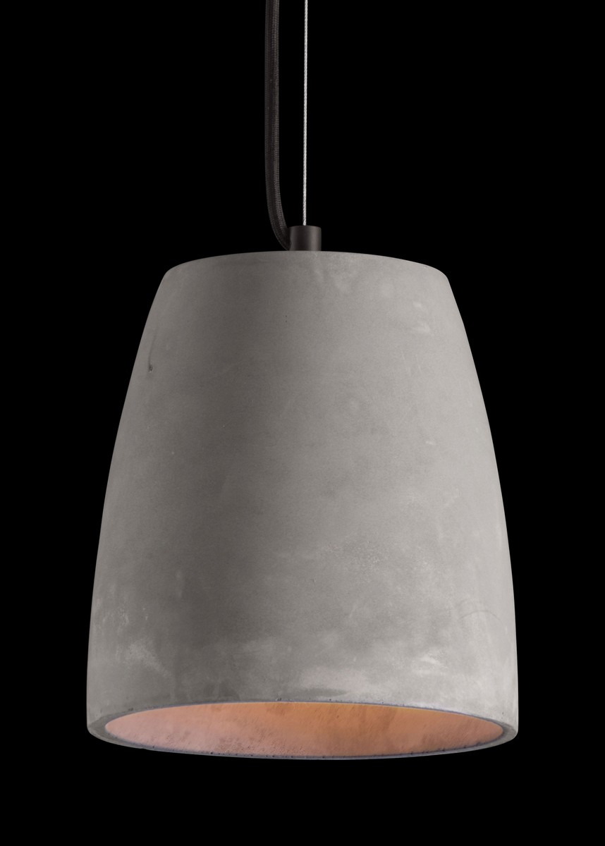 Zuo Modern Fortune Ceiling Lamp - Concrete Gray