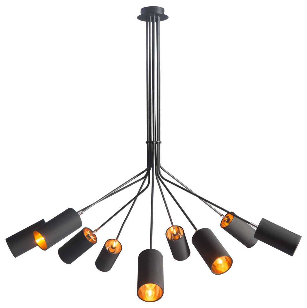 Zuo Modern Ambition Ceiling Lamp - Black