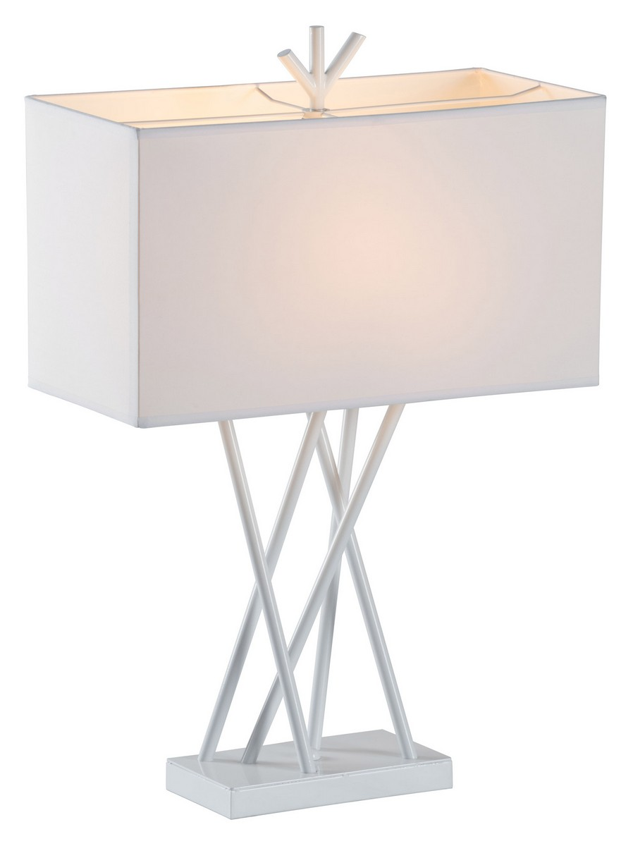 Zuo Modern Rise Table Lamp - White
