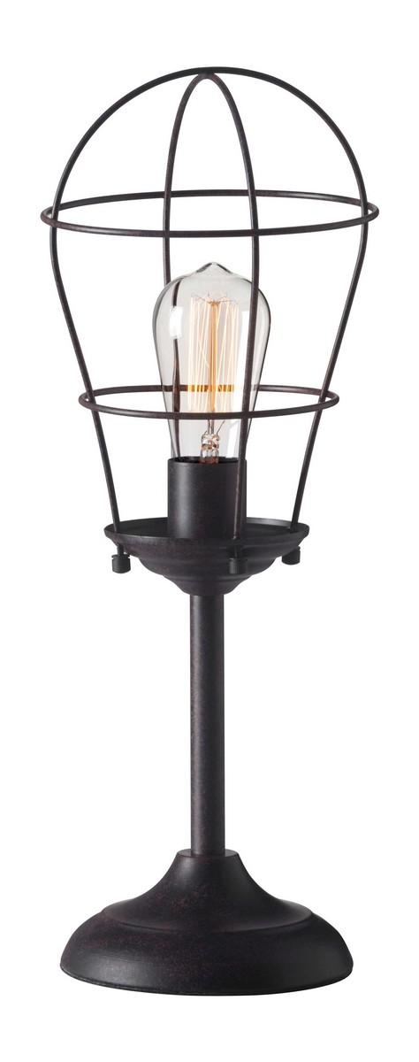 Zuo Modern Roll Table Lamp - Rust