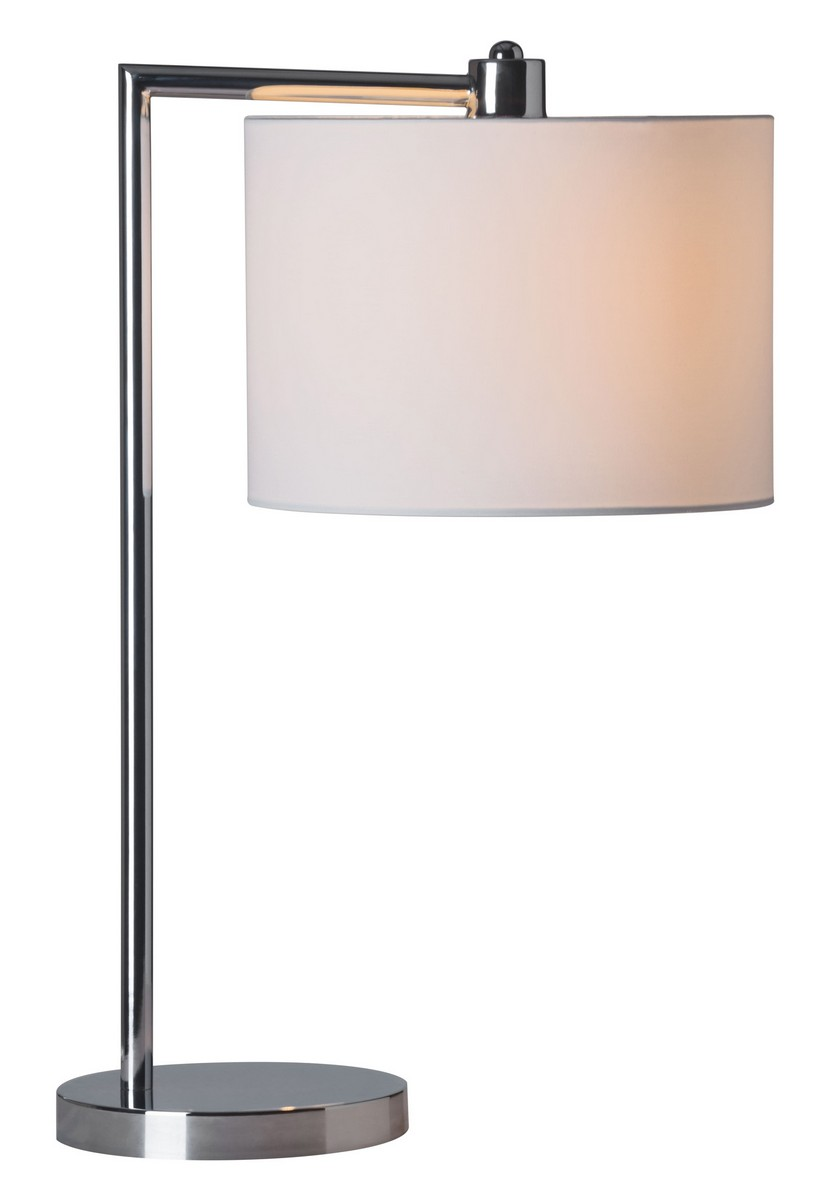 Zuo Modern Race Table Lamp - Chrome