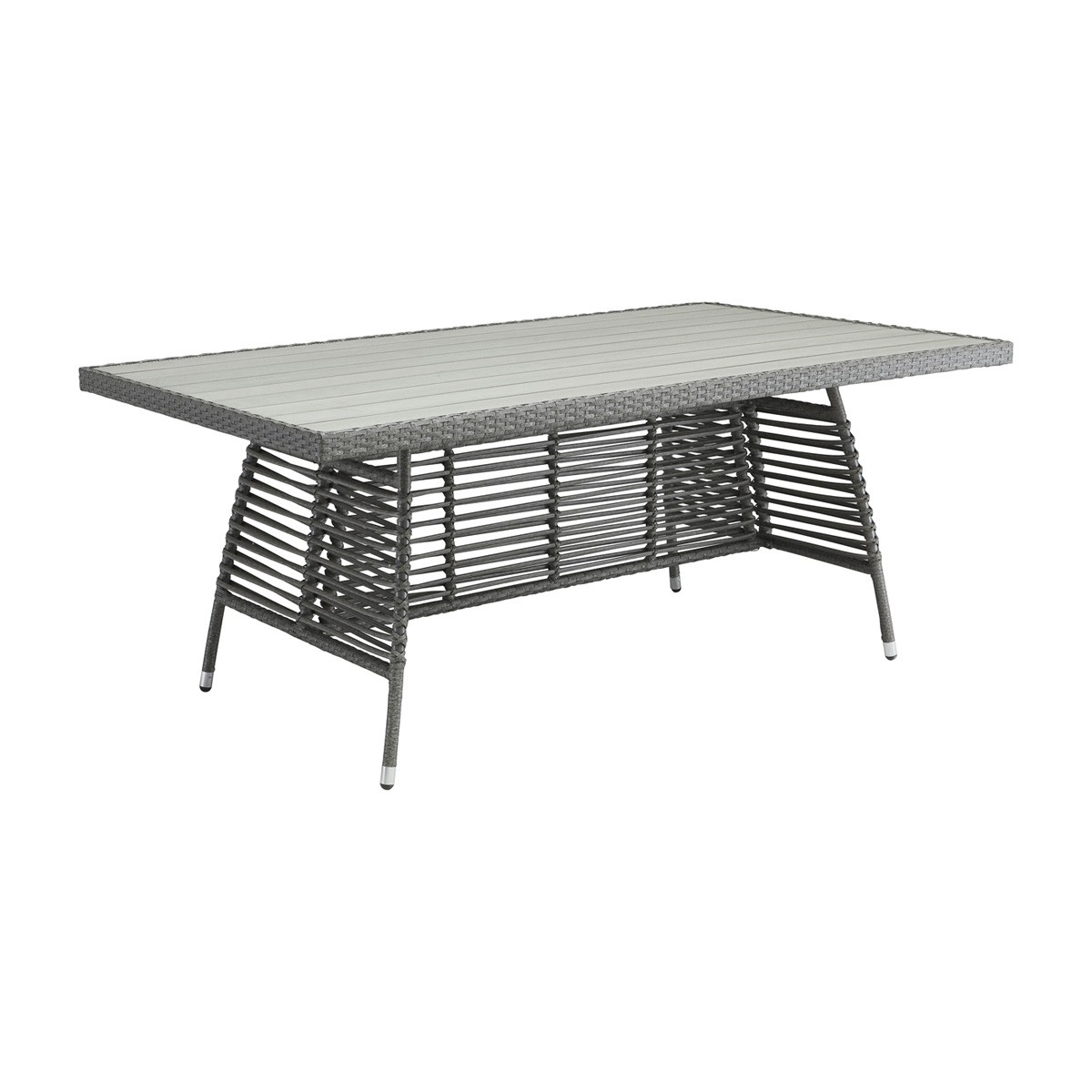 Zuo Modern Sandbanks Dining Table - Grey