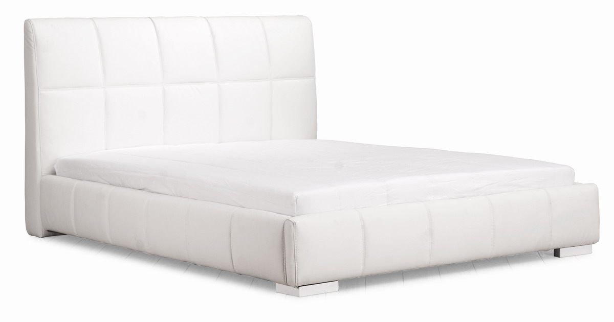 Zuo Modern Amelie Bed - White 800201