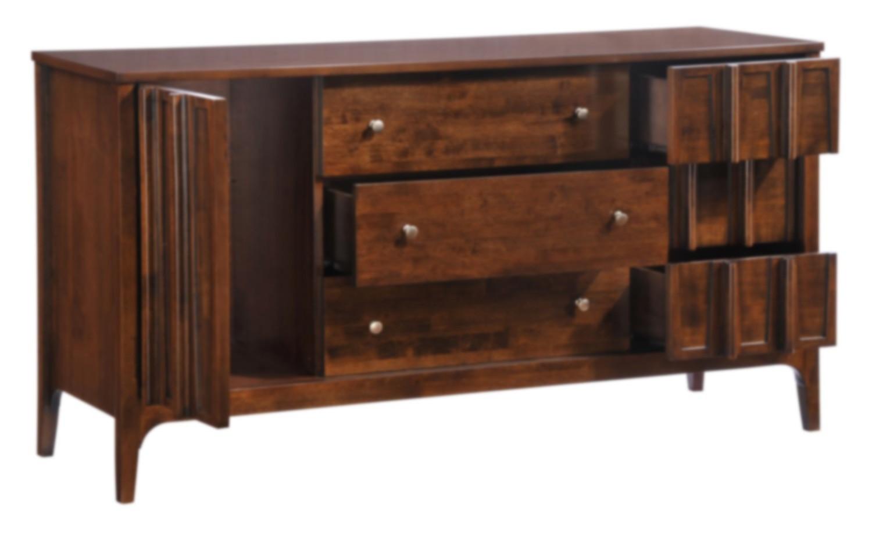 Zuo Modern Portland Double Dresser - Walnut