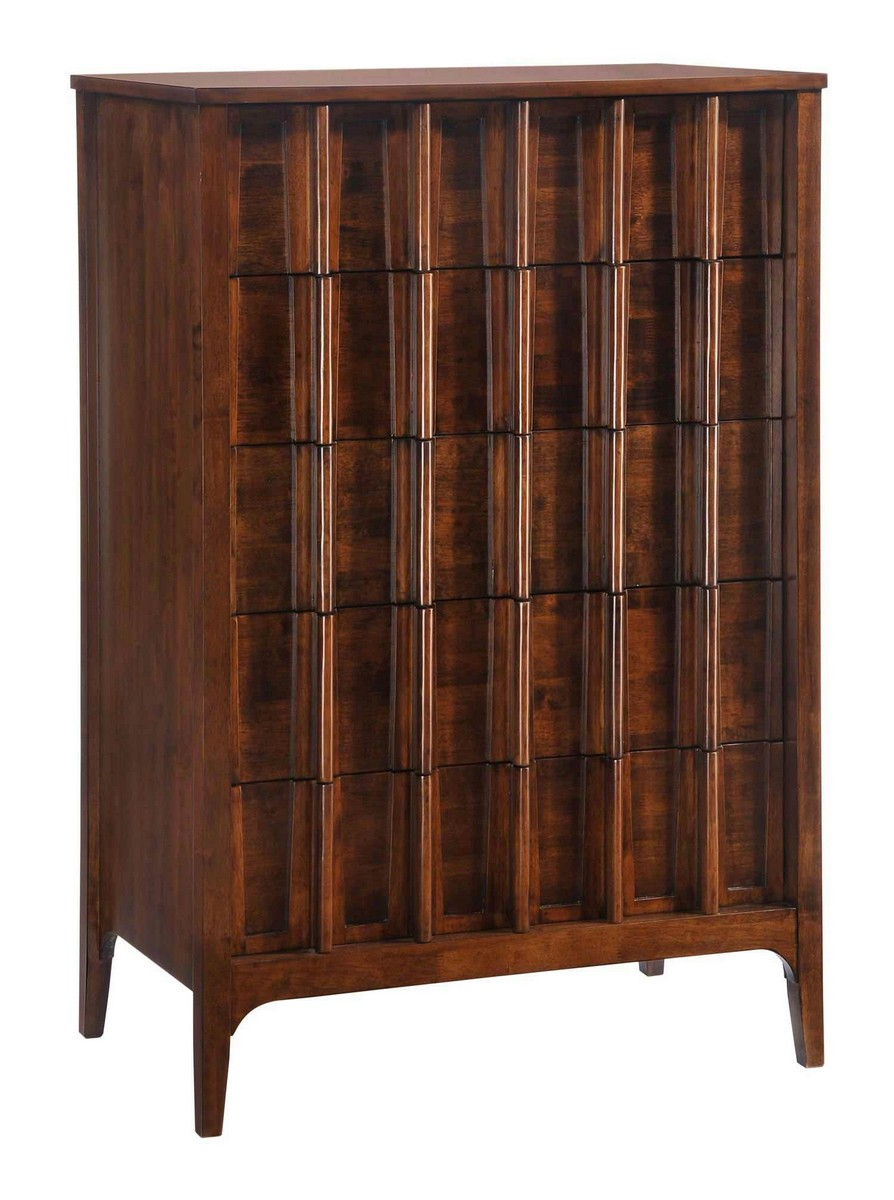 Zuo Modern Portland High Chest - Walnut
