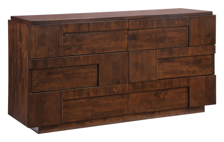 Zuo Modern San Diego Double Dresser - Walnut
