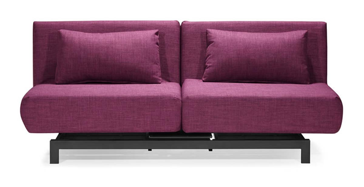 Zuo Modern Swing Lounge Sofa Bed Purple 900061