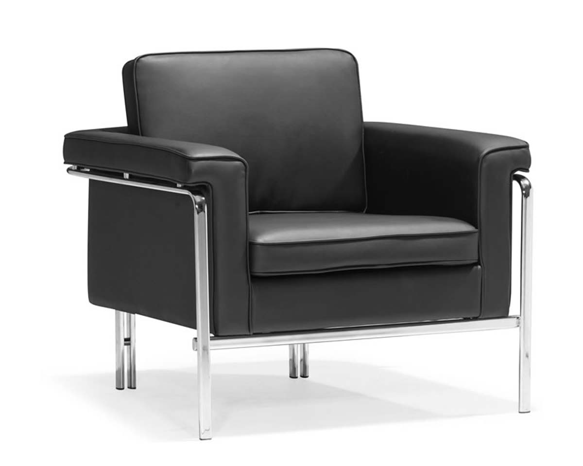 Zuo Modern Singular Armchair - Black