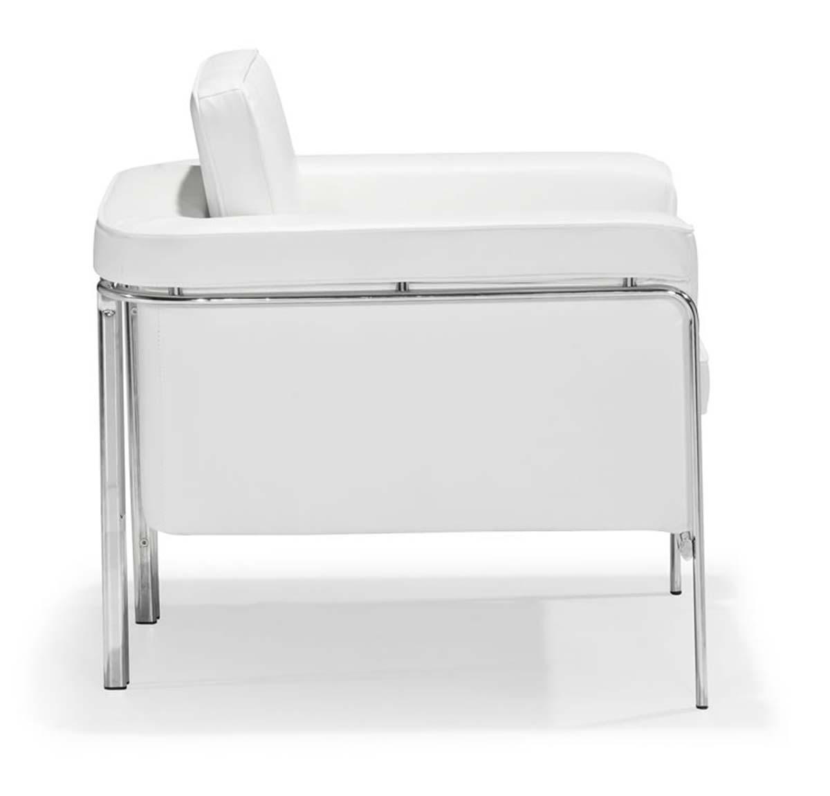 Zuo Modern Singular Armchair - White
