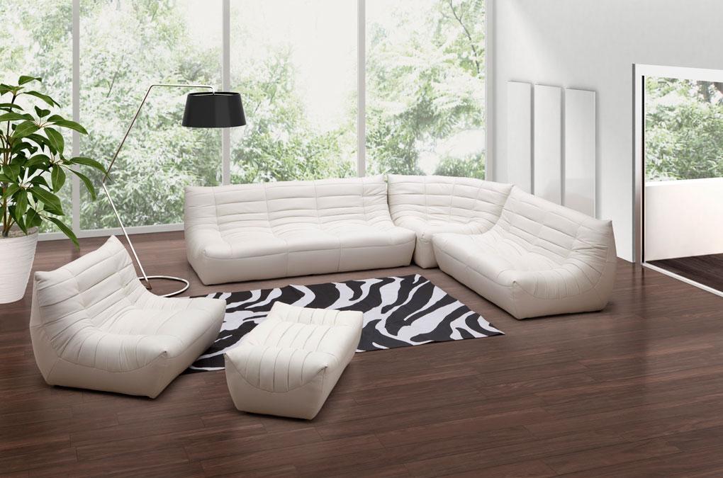 zuo modern carnival sectional sofa set carnival set