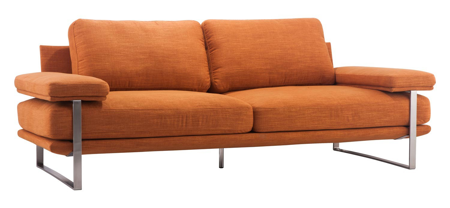 Zuo Modern Jonkoping Sofa - Orange