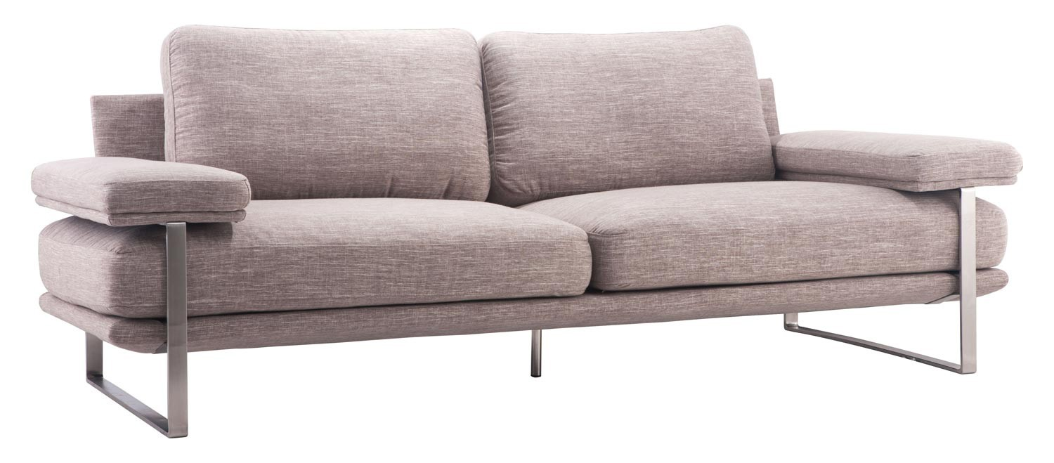 Zuo Modern Jonkoping Sofa - Wheat
